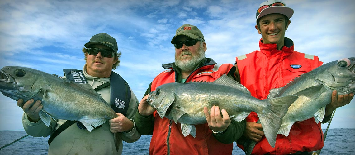 Deep sea fishing with Port MacDonnell Fishing Charters