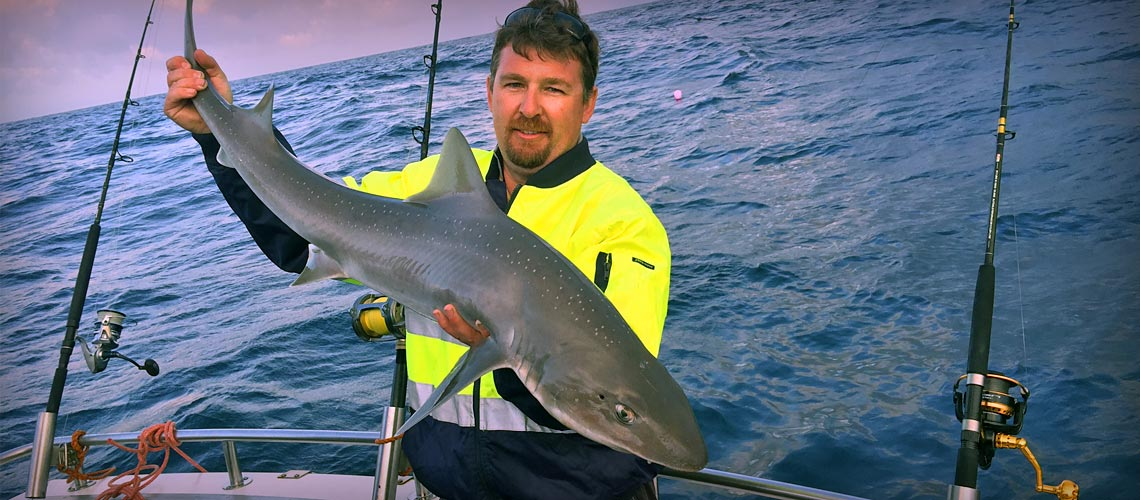 Shark and Tuna fishing with Port MacDonnell Fishing Charters