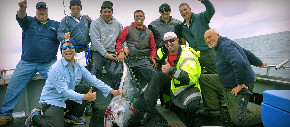 Tuna fishing with Port MacDonnell Fishing Charters